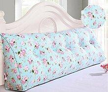Bedside Kissen Kissen Kissen Bett zurück weichen Tasche dreieckig große Rücken Sofa Schlafzimmer zurück Kissen ( Farbe : A5 , größe : 150*50*20cm )