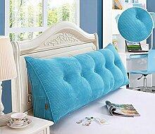 Bedside Kissen Kissen Kissen Bett zurück weichen Tasche dreieckig große Rücken Sofa Schlafzimmer zurück Kissen ( Farbe : A4 , größe : 120*50*20cm )