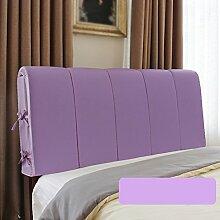 Bedside Kissen / Leder Bett mit Rückenlehne / Kopfende weiche Rückenlehne / Sofakissen bequem ( Farbe : B , größe : 180*60cm )