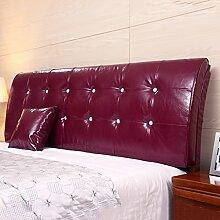 Bedside Kissen Nachttisch weiche Tasche Rückenlehne Kissen Bett Kissen Bettdecke Keine Wahl des Bettes ( Farbe : No bedside-A , größe : 180*62cm )