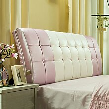 Bedside Kissen Soft Beutel Bett Großes Rückenlehnen Kissen Bett Abdeckung Rücken Unterstützung ( Farbe : B , größe : 160*60cm )