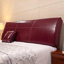 Bedside Kissen Soft-Tasche Dreieck Bett-Rückenlehne Bett-Abdeckung Soft und komfortabel Abnehmbare und waschbar Mit Nachttisch Optionen ( Farbe : Having bedside-G , größe : 180*55*12cm )