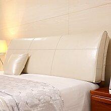 Bedside Kissen Soft-Tasche Dreieck-Bett-Rückenlehne Bettabdeckung Abnehmbar und waschbar Keine Wahl des Betts ( Farbe : No bedside-A , größe : 180*55*10cm )
