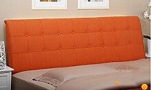 Bedside Large Kissen von Soft Cloth Double Tuch Abriss des Kissen Bett auf dem großen Kissen Back Bed Cover ( Farbe : A2 , größe : 2.0M )