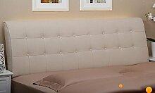 Bedside Large Kissen von Soft Cloth Double Tuch Abriss des Kissen Bett auf dem großen Kissen Back Bed Cover ( Farbe : A3 , größe : 0.9m )