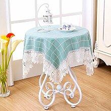 Bedside-tischdecke/Stoff-tischdecke/Garden Lace Tischtuch-L 100x150cm(39x59inch)