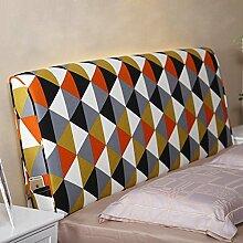 Bedside weiche Tasche Baumwolle Kissen große Rückenlehne Doppelbett Haube Bett Kissen Rückenlehne abnehmbar ( Farbe : 7# , größe : 10*60*150cm )