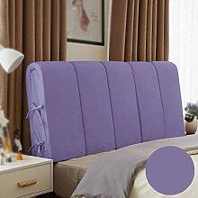 Bedside weichen Rücken / geometrische Bett Kissen / Bett mit großer Rückenlehne / Sofakissen bequem ( Farbe : A , größe : 200*60cm )