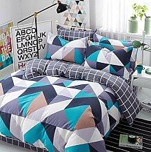 Bedsure Baumwolle Bettwäsche Bettbezüge mit