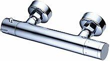 Beelee BL0214 Thermostat Bad Armatur Duscharmatur Wasserhahn Brausearmatur Grünbla