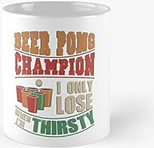 Beer Pong Champion Classic Mug   Best Gift Funny