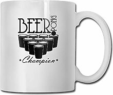 Beer Pong Champion Tea Cup Novelty Gift for