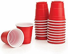 BeerCup-Classics Red Cup Shots Schnapsgläser