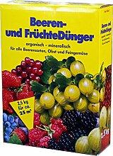Beerendünger Früchtedünger 10 kg 4x 2,5kg