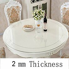 BeesClover Tischdecke aus Kunststoff für runde