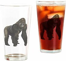 BeeTheOnly Gorilla - Pint Glass, 17 oz. Trinkglas