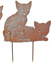 Beetstecker *Katze* Dekofigur Tierfigur Deko -