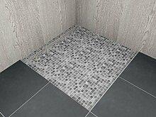 begehbare Dusche mit Rinne Maßanfertigung bis 1,4