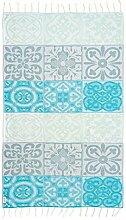 Begonville Mosaic Azurre Türkisches Handtuch
