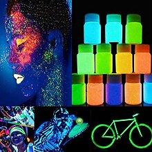 begorey Leuchtfarbe 20g Neon Farben leuchtende