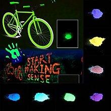 begorey Leuchtfarbe Leuchtpulver Neon Farben