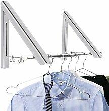 BeGrit Klappbar Wand-Kleiderständer klapphaken