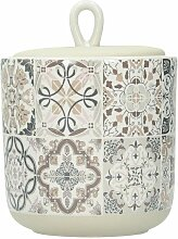 Behälter mit Deckel Casa Decor grey 550ml, 11 ×