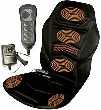 Beheizter Sitz Gepolstert, Rücken, Massage für Haus oder Auto, Massage Sitzauflage