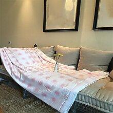 Beidseitige Tencel Sommer kühl Quilt kann waschbar Steppdecke Oberbett soft Quilt Sommer kühl sein, Quilt, Queensize-Bett (200 x 230 cm), G