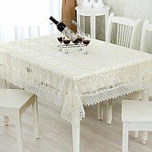 Beige braun Tischdecke/Organza Tischdecken/