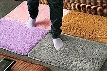 Beige: NEU & dicker Shaggy Super Soft Teppich/Teppich/Bereich Teppich/rutschfestem Badteppich Kinder Teppich für Wohnzimmer