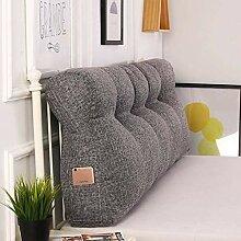 BEIGOO Keilkissen für Bett BaumwolleDreieck