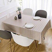 BEIGOO PVC Tischtuch,Wasserabweisend Ölbeständig