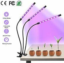 Beinhome Pflanzenlampe Led Grow Lampe 30W