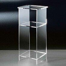 Beistelltisch aus Acrylglas modern
