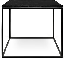 Beistelltisch - Gleam 50 cm - Marmor Schwarz
