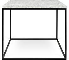 Beistelltisch - Gleam 50 cm - Marmor Weiß