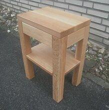 Beistelltisch Holztisch Eiche massiv. Maße :