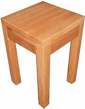 Beistelltisch Holztisch Erle massiv. Maße :