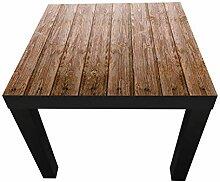 Beistelltisch Holzwand Designtisch M0689 Schwarz -