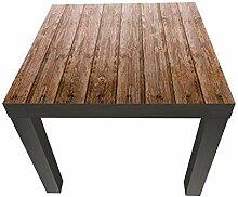 Beistelltisch Holzwand Designtisch M0689