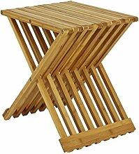 Beistelltisch klappbar aus Bambusholz
