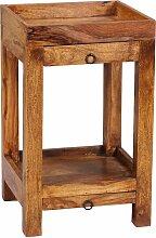 Beistelltisch Massiv-Holz Sheesham 65 cm