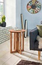 Beistelltisch Massivholz Akazie Design