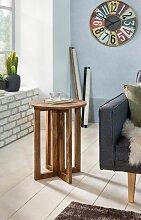 Beistelltisch Massivholz Sheesham Design
