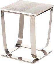 Beistelltisch Meris Marble 46cm, 36×36×46cm