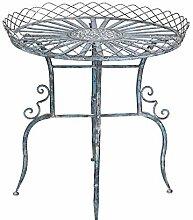 Beistelltisch Metall Gartentisch Eisentisch