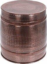 Beistelltisch Metall Kupfer Bronze Couchtisch