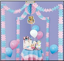 Beistle - 55426 - Baby Dusche Party Himmel