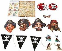 Beistle 5502616-teiliges Piraten Party Ki